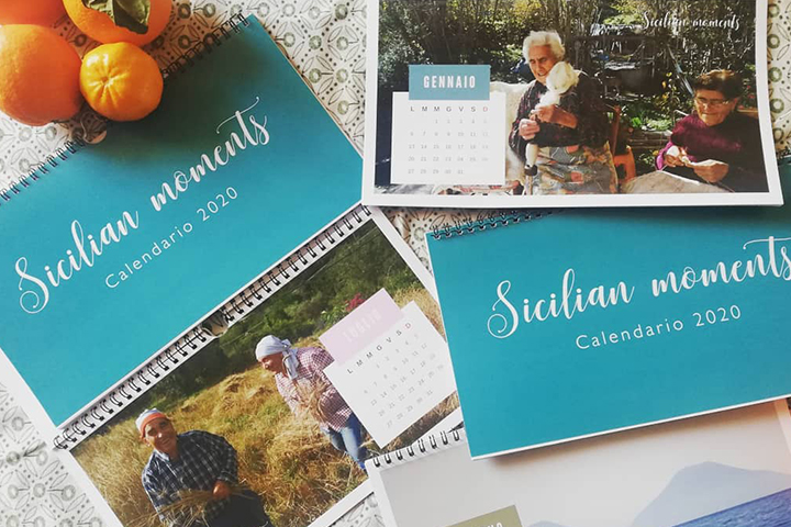 Calendario sicilian moments